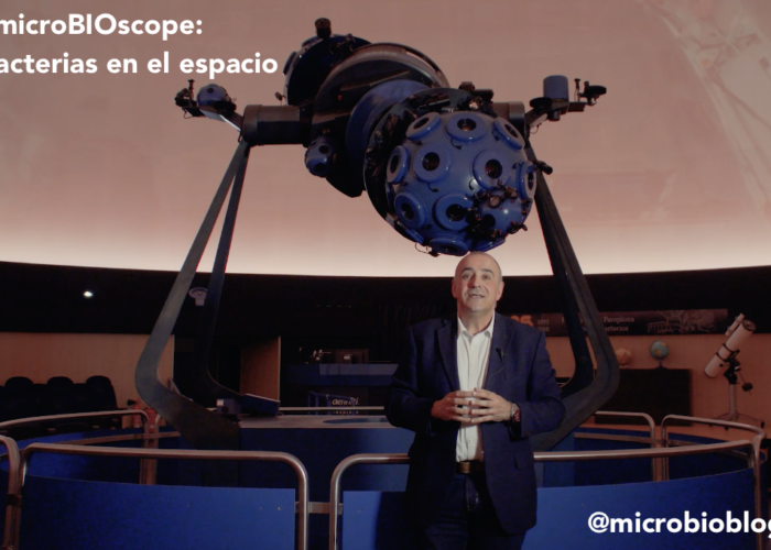 "#microBIOscope: bacterias ""espaciales"""