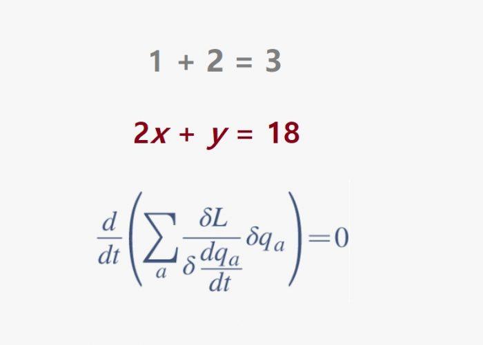 Las matemáticas son tus amigas