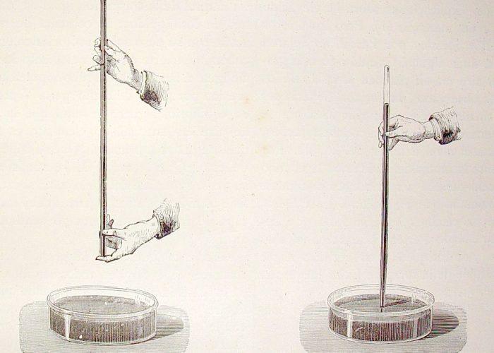 Vamos a medir la masa de la atmósfera con el experimento de Torricelli