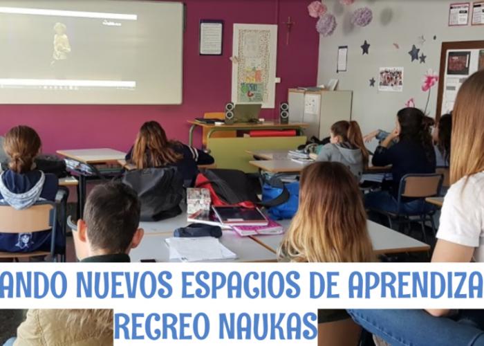 La iniciativa Recreo Naukas reúne ya a 50 centros educativos