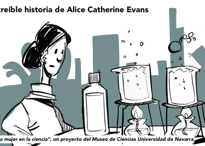 La increíble historia de Alice Catherine Evans