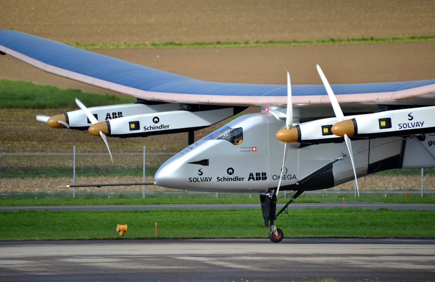 Avión solar Solar Impulse 2