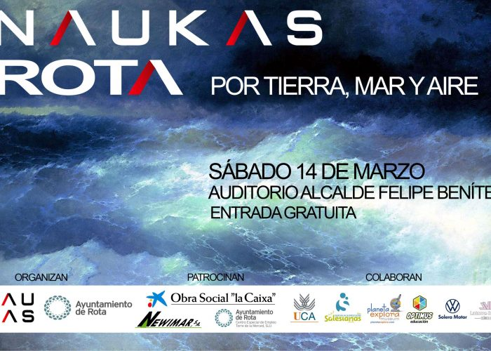 Programa (provisional) de Naukas Rota 2020 [Sábado 14 de marzo]