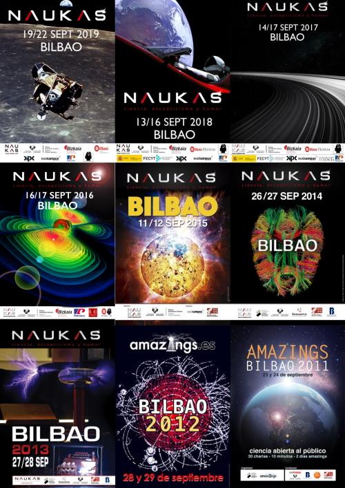 Carteles de Naukas Bilbao