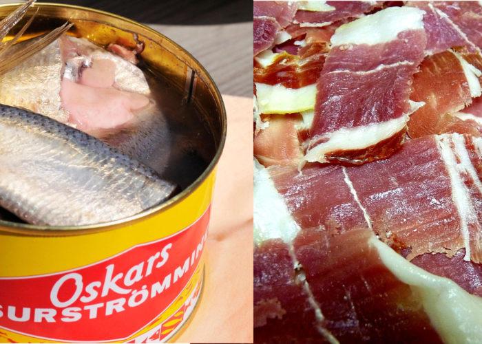 Surströmming, jamón de Jabugo y CRISPR