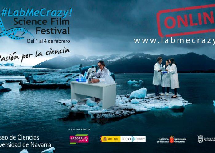 Cine y ciencia en #LabMeCrazy Science Film Festival